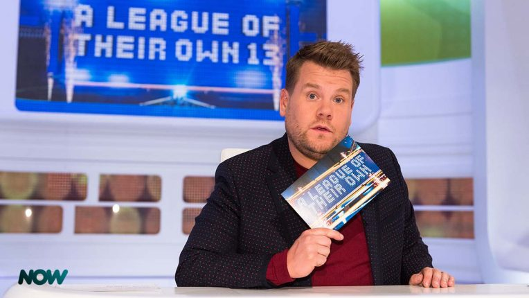 James Corden in A League Of Their Own