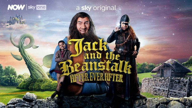 David Walliams plays the giant in Jack and the Beanstalk After Ever After