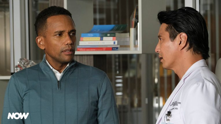 Hill Harper and Will Yun Lee in The Good Doctor