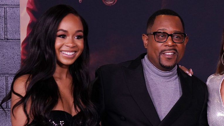 Jasmin Page Lawrence and Martin Lawrence