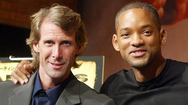 Michael Bay and Will Smith