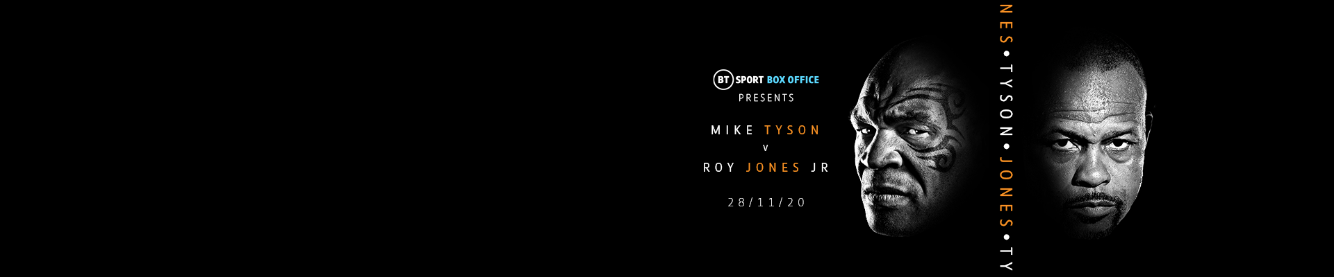Watch Mike Tyson vs Roy Jones Jr exclusively live on BT Sport Box Office
