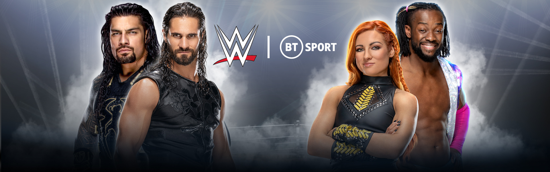 WWE moves to BT Sport