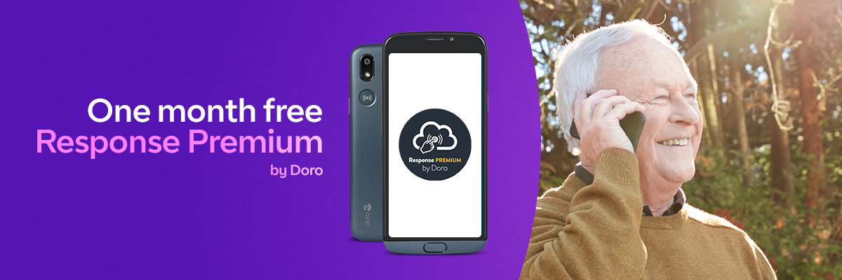 Limited time offer with Doro phones on BT Mobile