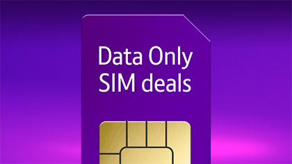 Data Only SIM deals from BT