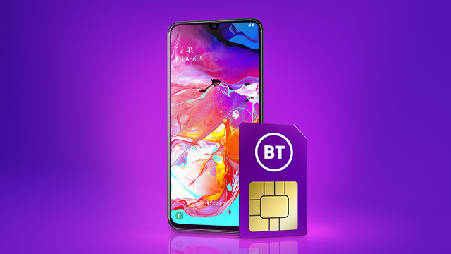 Mobile and SIM deals with BT