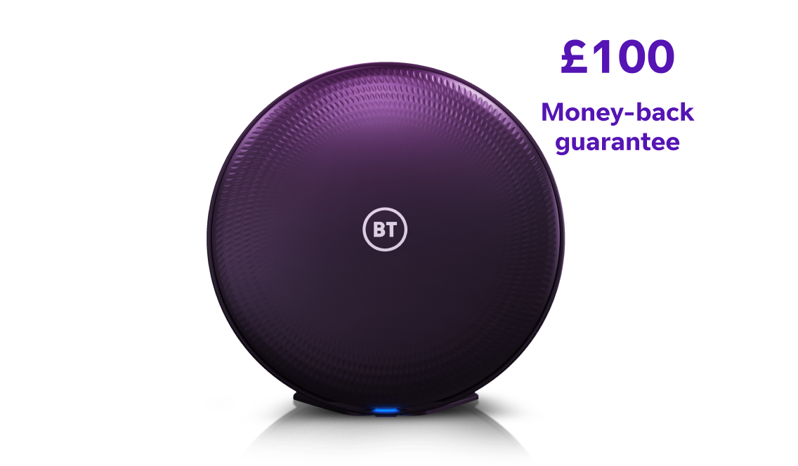 Complete Wi-Fi discs with £100 money-back guarantee
