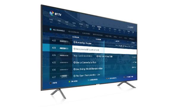 4K Ultra HD | HD Television | BT