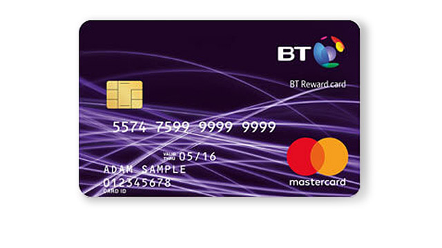 BT Reward Card - mastercard